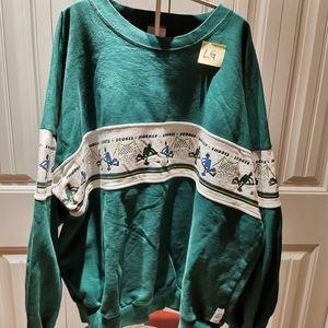 Mens Large Vintage Hockey Shirt